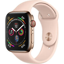 Reloj de Apple serie 4 40mm Gps Celular 4G LTE-Acero Inoxidable-Oro