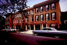 63 Cadillac Convertible Store Street Scene Washington DC 1964 Kodak 35mm Slide 3