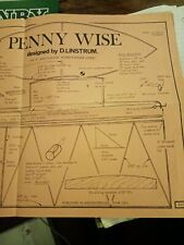 Penny Wise. Kitty Wasp. Model Plane Glider Plan Template. Chicken ship jetex