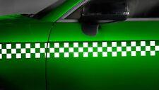 Aufkleber Karomuster Race Flag Turbo Tuning Seitenaufkleber Dekor Karo Sticker