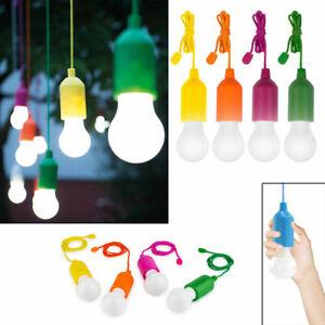 Lampadina a Led Portatile Senza Fili Hand Lux Lampada a Batteria Antiurto Corda