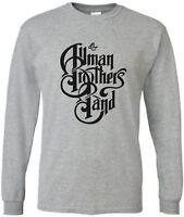 Allman Brothers Band Long Sleeve T TEE Shirt Brand New