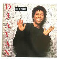 DJAVAN - Bird Of Paradise / 1988 Vinyl LP Album / Latin Jazz NM/VG+