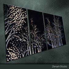 Modern Abstract Metal Art Original Special Painting Indoor Outdoor Decor-Zenart