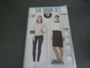 Sewing Pattern 'The Orion Set' Dress/Top from Simply Sewing sizes 8-18 NEW/UNCUT
