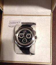 Versace VQC010015 Men's Dylos Black Quartz Watch