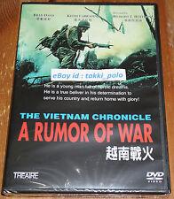 THE VIETNAM CHRONICLE A RUMOR OF WAR (NEW DVD) BRAD DAVIS R0