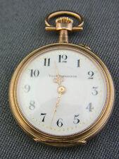 alte Damen Taschenuhr 375/- Gold Union Horlogére