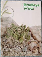Bradleya 10/1992 Yearbook of the British Cactus and Succulent Society