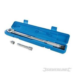 """Silverline Torque Wrench 28 -210Nm 1/2"""" Drive -633567"""