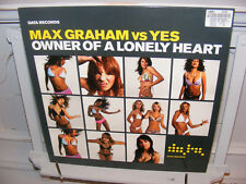 "Max Graham vs Yes 12"" Owner Of A Lonely Heart  , House, Data Records, VG/VG"