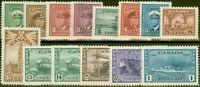 Canada 1942-48 War Effort set of 14 SG375-388 V.F Lightly Mtd Mint