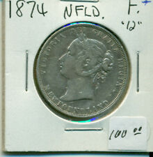 NFLD 1874 Fine+ 50 cents