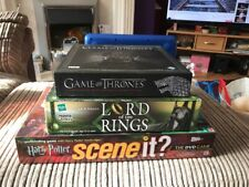 Board Game Bundle Lord Of The Rings Game Of Thrones Harry Potter Scene It Lot