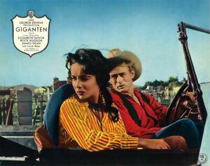 Partnerportrait JAMES DEAN & ELIZABETH TAYLOR in GIGANTEN | Original AHF 1950er