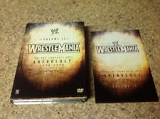WWE - Wrestlemania Anthology: Vol. 2 (DVD, 2005, 5-Disc Set)Authentic US RELEASE