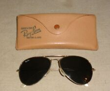 Pair Of Vintage Ray Ban Bausch & Lomb Shooting Sunglasses & Case