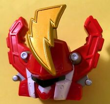 Bandai Power Rangers Operation Overdrive Triple MEGAZORD HEAD PART helmet red