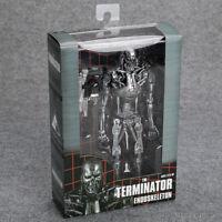 """The Terminator 2 T-800 Endoskeleton PVC 7 """" Action Figure Collectible Toy NECA"""
