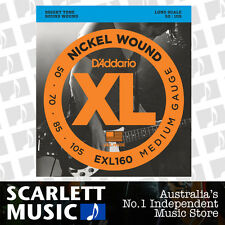 D'Addario EXL160 50-105 Medium Gauge Bass Guitar Strings Daddario EXL-160