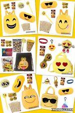 Emoji Emoticon Easter Basket Eggs Plush Pillows Pocket Books Toys Party Favors