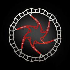 Disco de freno Ultralight 160mm ai rotor (Tune it) 85g rojo red Ashima aro 08