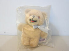 Russ Snuggle Bear Lever Bros. Plush Stuffed Animal  New In Bag Sealed Vintage