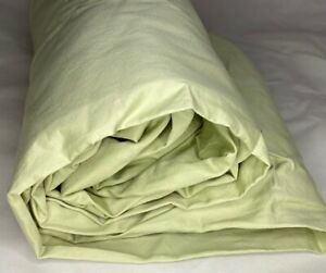 Pale Sage Green Double Fitted Sheet Sateen Full 500TC Company Store olive taupe