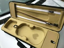 Pro. Wooden Violin case ( Air Travel ) + WOOD BOW