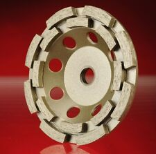"""Double Row Cup Wheel Blade 4.5""""cup 5/8-11 silver (Double) + FREE SHIPPING"""