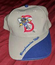 BINGHAMTON NY NEW YORK METS ADJUSTABLE STRAP HAT CAP MLB MINORS VINTAGE BASEBALL