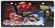 New Universal Studios Florida Retro Logo 30th Anniversary Vanity License Plate