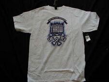 Zoo York Skateboard Throw Craze Logo T-Shirt White Size Large New