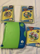 Leap Frog Leap Pad Learning System #30004 Year 2001 W/3 Books & 2 Cartridges