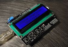 LCD Keypad Shield for Arduino 1602 Blue LCD 6 Button US Seller Fast Ship