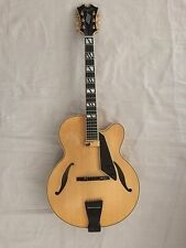 """D'Aquisto New Yorker 17"""" Archtop Natural Blonde Highly Figured"""