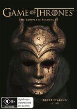 Game Of Thrones : Season 1-5 (Blu-ray, 2016, 23-Disc Set)