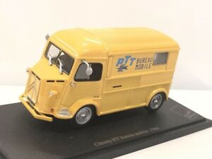 1/43 Norev Citroen Fourgon Bureau Mobile HY 1964 +fascicule Livraison Domicile