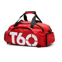Unisex Sport Bags T60 Gym Bag Backpack Nylon Handbag T90 Free Shipping NEW