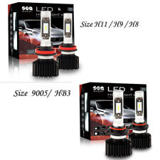 SEALIGHT Package Kit H11 9005 6000K LED Combo Headlight High Low Beam HID White