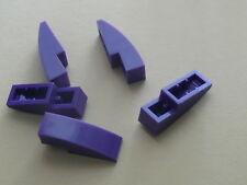 Lego 5 arrondi violet fonce / 5 dark purple curved slope new 41180 2263 2521