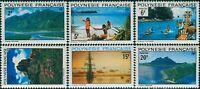 French Polynesia 1974 Sc#278-283,SG180-185 Polynesian Landscapes set MNH