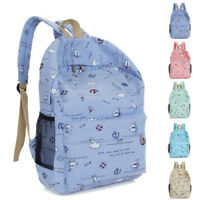 US Women Backpack Teenage Girl School Bag Rucksack Travel Bookbags Satchel Hot