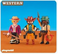 Playmobil 6278 figures 2 Cowboys and Cowgirl klicky westerns series NEW 139