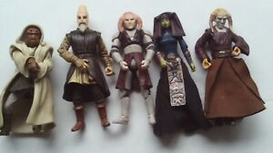 Star Wars Various Jedi Knights 5 Figures Nikto Saesee Tinn