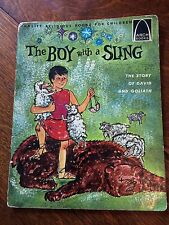 1965 vintage The Boy with the Sling: 1 Samuel 16:1-18:5 for Children Arch Books
