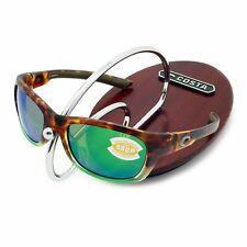 d73f08491b4d2 NEW Costa Del Mar TREVALLY Matte Tortuga Fade   580 Green Mirror Plastic  580P