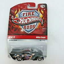 HOT WHEELS 2009 FIRE RODS Willys Coupe #6 OF 26 METAL BODY WITH AUTHENTIC [14]