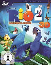 Rio 2 - Dschungelfieber -3 D + 2 D - Blu Ray