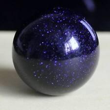 g1793  30mm Gemstone Blue goldstone sandstone sphere ball